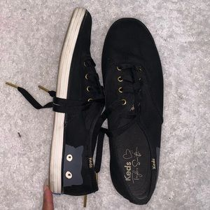 Keds Taylor Swift Grey Carly Black Sneakers